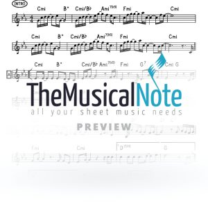 Hold On MBD Music Sheet