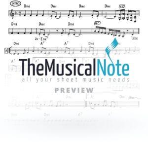 Loi Luni Ahrele Samet Music Sheet