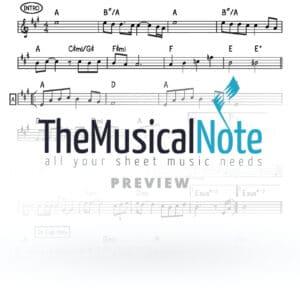 Melech Elyon Ahrele Samet Music Sheet