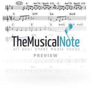 Mimkomcho MBD Music Sheet