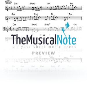 Re ei Noh Yiddish Naches Music Sheet