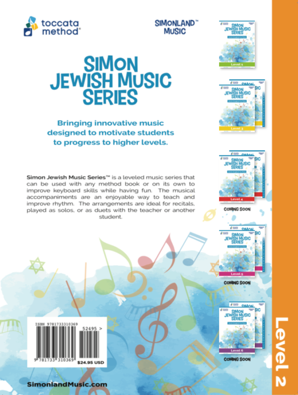Simon Jewish Music Series Level 2
