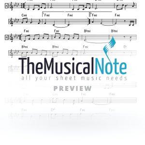 Shaarei Dmoos Avraham Fried Music Sheet