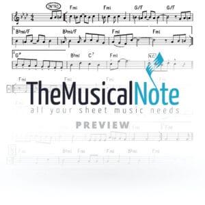 Talmidei Chachomim Ahrele Samet Music Sheet
