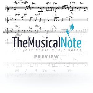 Tanyeh Avraham Fried Music Sheet