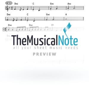Tzorchei Amcho Ahrele Samet Music Sheet