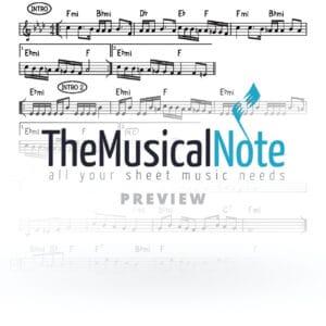 Uchein Ahrele Samet Music Sheet