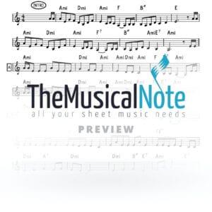 Velimadetem Yiddish Naches Music Sheet