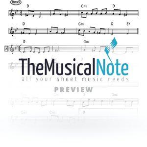 Ydid Nefesh MBD Music Sheet