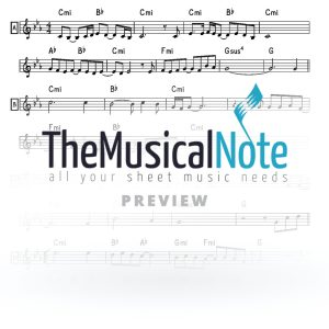 Youre Never Alone Avraham Fried Music Sheet