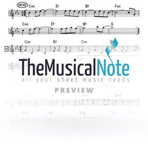 Am Yisrael Yaakov Shwekey Music Sheet