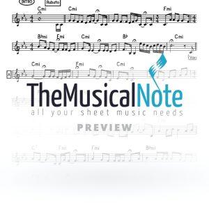 Bshoh Yaakov Shwekey Music Sheet
