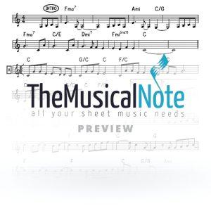 Harei At Yaakov Shwekey Music Sheet