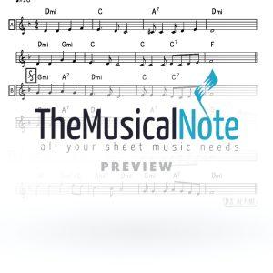 Keili Lomo MBD Music Sheet