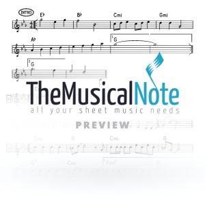 Melech MBD Music Sheet