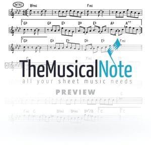 Menagen Yaakov Shwekey Music Sheet