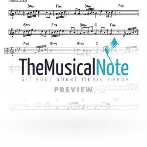 Menucha Vsimcho MBD Music Sheet
