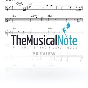 Meshoich Yaakov Shwekey Music Sheet