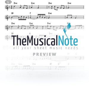 Neemon MBD Music Sheet