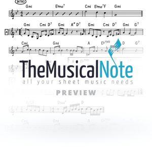 Nichsepho (Ballad) MBD Music Sheet