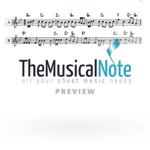 Nigun #5 Viznitz Monsey Music Sheet