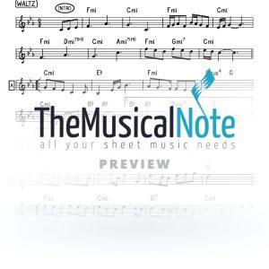 Odcho MBD Music Sheet