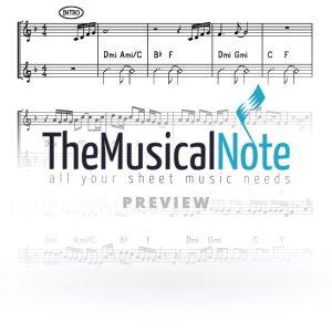 One Heart Yaakov Shwekey Music Sheet