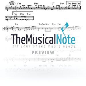 Oorah 2 MBD Music Sheet