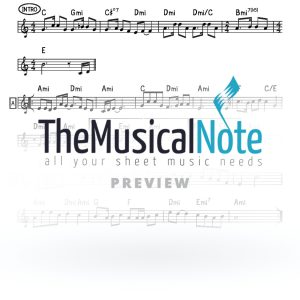 Tenachamu MBD Music Sheet