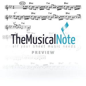 Vchuso No MBD Music Sheet