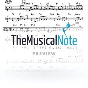 Vhee Sheomdoh Yaakov Shwekey Music Sheet
