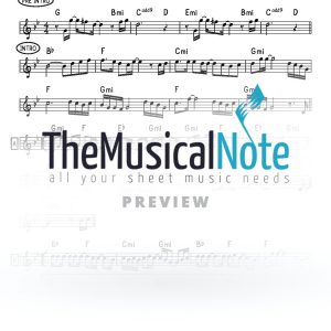 We Are One MBD Music Sheet