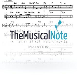 Yiree Yaakov Shwekey Music Sheet