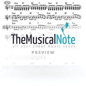 Yishtabach Shemo Yaakov Shwekey Music Sheet