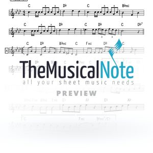 Yismachu 1 MBD Music Sheet