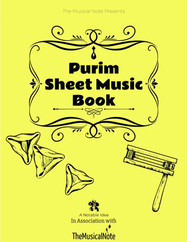Purim Book Sheet Music Songs